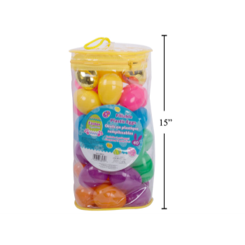 Picture of DECOR - PLASTIC EASTER EGGS