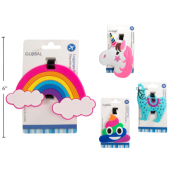 Picture of LUGGAGE TAGS - ASSORTED