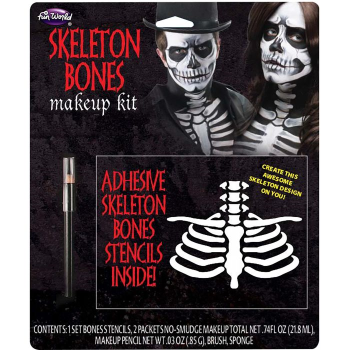 Image de SKELETON BONES - MAKEUP KIT