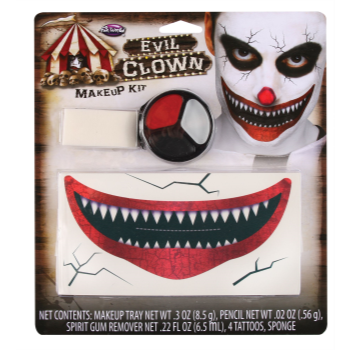 Image de CLOWN EVIL - MAKEUP KIT