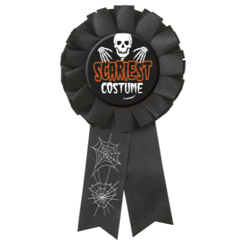 Picture of SCARIEST COSTUME AWARD RIBBON