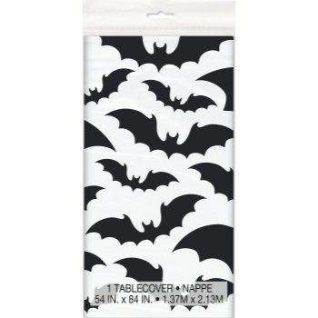 Picture of BLACK BATS  HALLOWEEN - TABLE COVER
