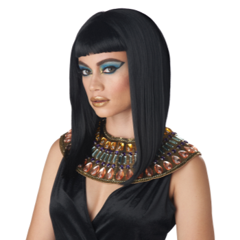 Picture of EGYPTIAN WIG - ANGULAR CUT - BLACK