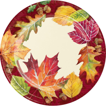 "Picture of FALLEN LEAVES 7"" PLATES"