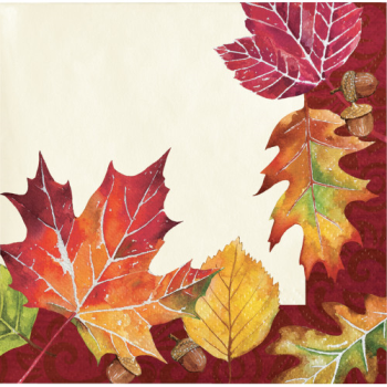 Picture of FALLEN LEAVES BEVERAGE NAPKINS