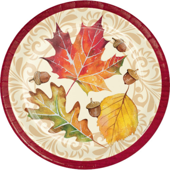 "Picture of FALLEN LEAVES 9"" PLATES"