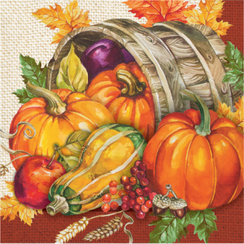 Picture of PLENTIFUL HARVEST LUNCHEON NAPKINS