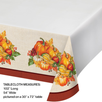 Picture of PLENTIFUL HARVEST TABLE COVER