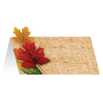 Picture of FALL LEAVES PLACE CARDS