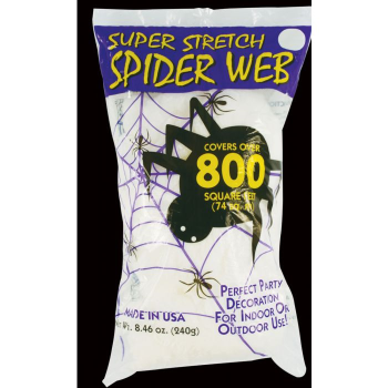 Picture of SPIDER WEB - WHITE - SUPER STRETCH