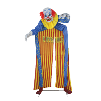 Image de 10' LOOMING CLOWN LARGE ANIMATED PROP