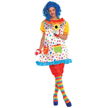 Picture of CLOWN GIRL - ADULT STANDARD