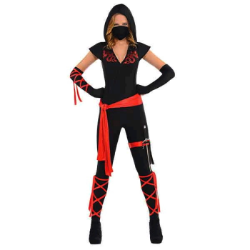 Picture of DRAGON FIGHTER NINJA COSTUME - ADULT MEDIUM