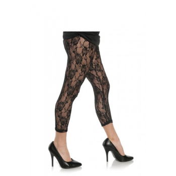 Image de 80'S LACE LEGGINGS BLACK - MEDIUM