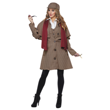 Picture of LADY SHERLOCK - ADULT LARGE