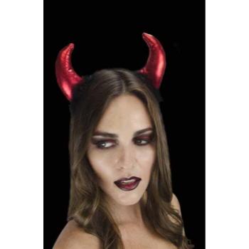 Image de DEVIL HEADBAND WITH MAKE UP