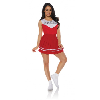 Picture of CHEER LEADER RED - ADULT SMALL