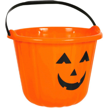 Picture of PUMPKIN PAIL BUCKETS ORANGE