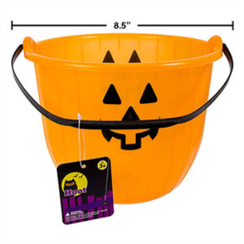 Picture of PUMPKIN PAIL - 8""