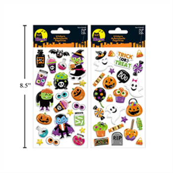 Picture of HALLOWEEN GLITTER STICKERS