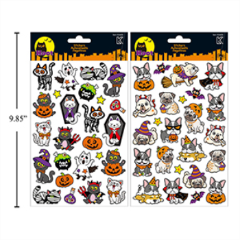 Picture of HALLOWEEN FOIL STICKERS