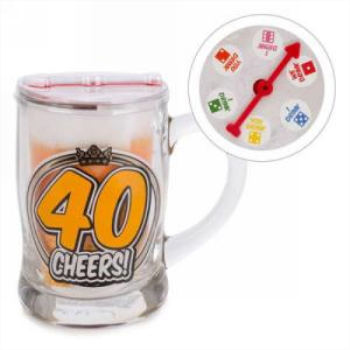 Picture of 40th BEER MUG - 40 CHEERS