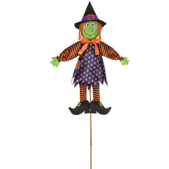 Picture of LAWN YARD SIGN - 4' WITCH PLUSH