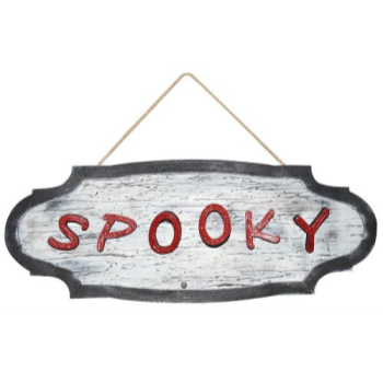 "Picture of 27"" ANIMATED SPOOKY SIGN"