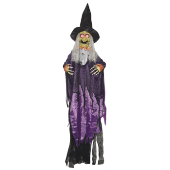 Picture of 5' HANGING TALKING WITCH