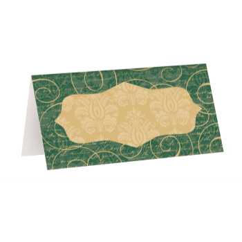 Image de TABLEWARE -  PLACE CARD ELEGANT CHRISTMAS