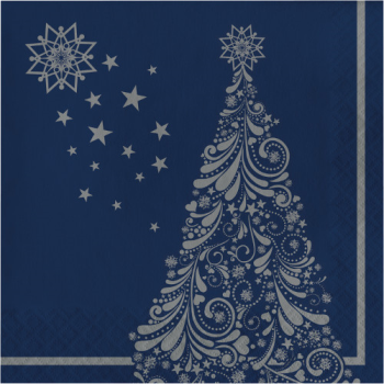 Image de TABLEWARE - SILENT NIGHT LUNCHEON NAPKINS