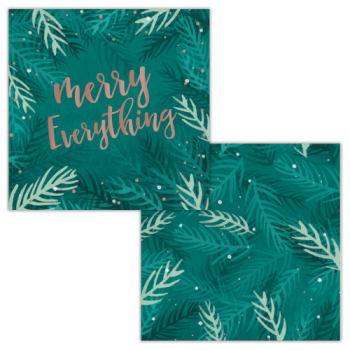 Image de TABLEWARE - MERRY EVERYTHING BEVERAGE NAPKINS