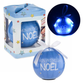 Image de DECOR - CHRISTMAS ORNAMENT - MON PREMIER NOËL - BLUE