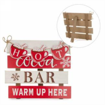 Image de DECOR - HOT CHOCOLAT BAR WALL DECOR