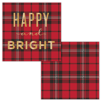 Image de TABLEWARE - HAPPY AND BRIGHT BEVERAGE NAPKINS
