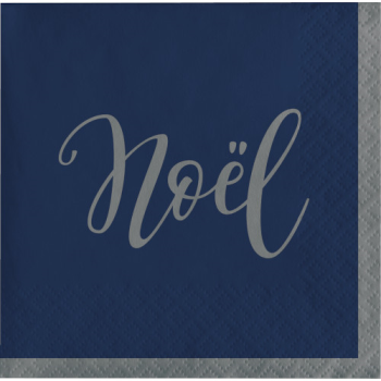 Image de TABLEWARE - SILENT NIGHT BEVERAGE NAPKINS - NOEL