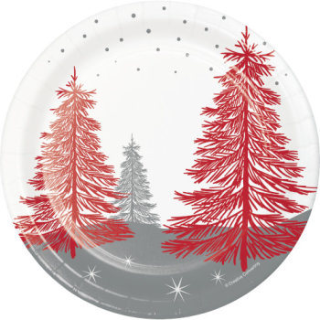 "Image de TABLEWARE - WINTER WONDER 7"" PLATES"