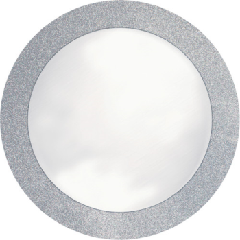 Image de TABLEWARE - SILVER PLACEMATS WITH GLITTER BORDER