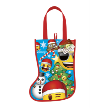 Image de DECOR - STOCKING SHAPE TOTE BAG - EMOJI