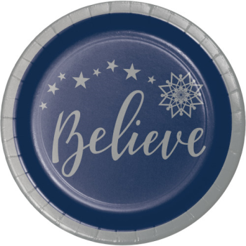 "Image de TABLEWARE - SILENT NIGHT  7"" PLATES - BELIEVE"