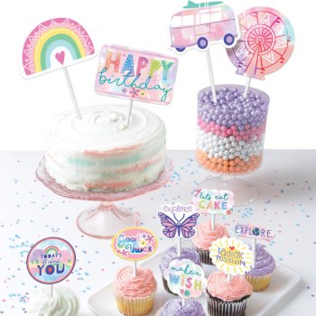 Picture of GIRL-CHELLA - PAPER TOPPER KIT