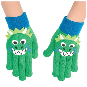 Image de WEARABLES - GLOVES DINOSAUR