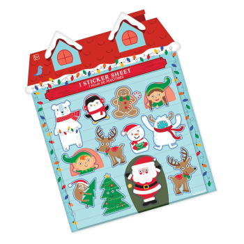 Image de DECOR - CHRISTMAS GOOGLY EYES STICKER SHEETS