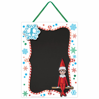 Image de DECOR - THE ELF ON A SHELF EASEL CHALKBOARD SIGN