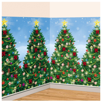 Image de DECOR - CHRISTMAS TREE ROOM ROLL SCENE SETTER