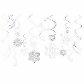 Picture of DECOR - SNOWFLAKES VALUE SWIRLS