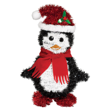 Image de DECOR - 3D TINSEL PENGUIN