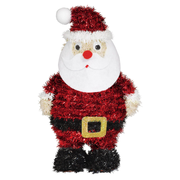 Image de DECOR - 3D TINSEL SANTA
