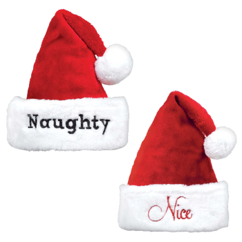 Image de WEARABLES - HAT NAUGHTY OR NICE HAT SET - 2 INNER