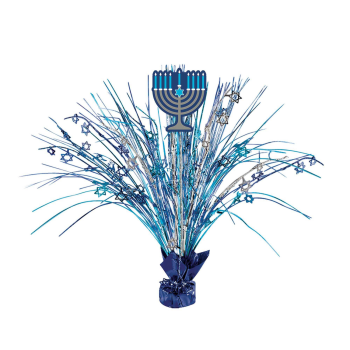 Picture of DECOR - HANUKKAH LARGE SPRAY CENTER PIECE